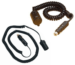 12v Coiled Extension Cords